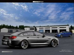 2013 BMW Gran Coupe Visualized in New Renderings Bmw M6 Coupe, Cls 63 Amg, Mercedes Cls, Little Sport, Bmw 6 Series, Dream Garage, Cute Images, Motor Car, Dream Cars