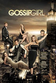 Gossip girl is my favorite tv show! I just love how dramatic it is and that it is located in New York. I love New York.