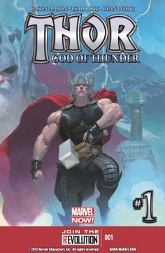 THOR: GOD OF THUNDER by Jason Aaron & Esad Bibic: alien Gods are cool...but they die...3 generations of Thor!!!