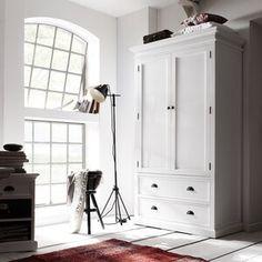 furniture layout with tv Breakwater Bay Fairmead Armoire Wood Bedroom Furniture, Furniture Layout, Kitchen Furniture, Bedroom Decor, Furniture Websites, Pine Wardrobe, Wardrobe Drawers, Armoire Wardrobe, White Armoire