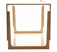 masa vaclav Red Desk, Mirror, Furniture, Table, Design, Home Decor, Decoration Home, Room Decor, Mirrors
