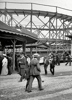 Euclid Beach Park, Cleveland, Ohio, circa 1908.