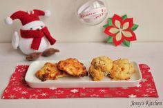 Cookies salés      Encore une idée de zakouski originale. Des cookies salés.   J'ai trouvé la recette de base I...