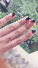 Beauty Skincare  DIY  Simple And Easy tape nail art for lazy girls     # Tape Nail Art, Nail Art Diy, Diy Nails, Beauty Tips And Secrets, Beauty Hacks, Diy Makeup Desk, Living Under A Rock, Diy Face Mask, Face Masks