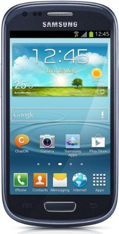 Samsung Galaxy S III Mini I8190 8GB Unlocked GSM Phone with Android 4.1 OS, Dual Core, Super AMOLED Touchscreen, 5MP Camera, GPS, NFC, Wi-Fi...