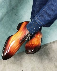 Indian Men Fashion, Mens Boots Fashion, Men's Shoes, Shoe Boots, Dress Shoes, Gentleman Shoes, Style Masculin, Custom Design Shoes, Walk In My Shoes