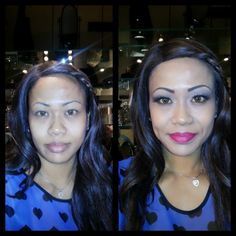 Makeup Application. Visit our website at www.theonebeautylounge.com