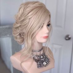 50 Classy Braided Updo Styles For Wedding! Don't you want to be like princesses on your wedding? Then you should take a look at the braided updo hair styles we have prepared for you! Braided Hairstyles Updo, Braided Updo, Up Hairstyles, Wedding Hairstyles, Hairstyle Ideas, Hairstyle Tutorials, Updos, Updo Styles, Curly Hair Styles