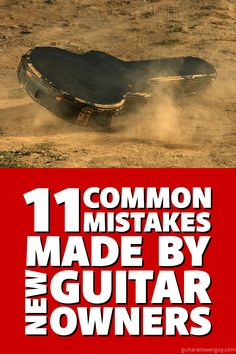 Avoid these 11 guitar mistakes made by new (and even some experienced) guitar owners. Avoid damage and keep your guitar sounding and playing its best. Bass Guitar Chords, Learn Acoustic Guitar, Guitar Chords Beginner, Guitar Chord Chart, Bass Guitar Lessons, Guitar Lessons For Beginners, Guitar Scales, Guitar Tips, Guitar Songs
