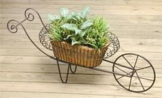 Wheelbarrow Planter, i have this !