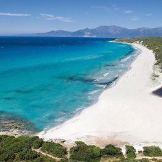 Les premiers à en profiter  ce matin.Ne soyez pas jaloux nous savons partager...un peu  #Corse #paradis #plage #agriate #desert #saleccia #sauvage #naturepreservee #bonheur #farniente #venirencorse #aircorsica #enavion #ete2016