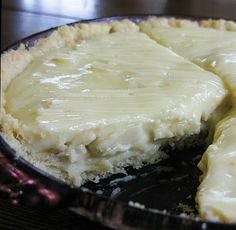 Food for A Hungry Soul: Old Fashioned Banana Cream Pie