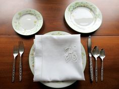 Here is a set of 10 large dinner napkins with a padded satin stitched monogram. These napkins measure approximately 25 inches square. These large style napkins were popular during the 1920s and 30s when having guests for dinner. The monogram is sideways on the fabric. They are folded in Hem Stitch, Satin Stitch, Etsy Vintage, Vintage Items, Vintage Linen, Napkin Folding, Dinner Napkins, Antique Books, Small Businesses