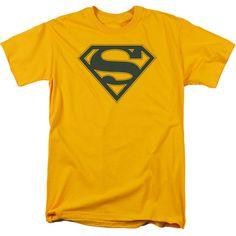 Superman: Navy & Gold Shield T-Shirt