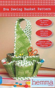 Sewing basket pattern