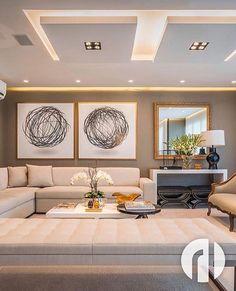 Bom dia com esse projeto liiindo! A iluminação é um dos recursos mais lindos que podemos ter na decoração! 😍❤ Autoria do Projeto: RL Arquitetos 🌟