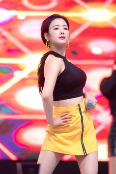 Photo album containing 16 pictures of Bomi Pink Panda, Cube Entertainment, Asian Woman, Kpop Girls, High Waisted Skirt, Mini Skirts, Sexy, Album, Inspiration