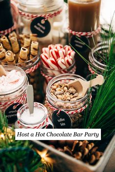 Learn how to host a hot chocolate bar party with everything that you need and how to make the most amazing slow cooker hot chocolate recipe.