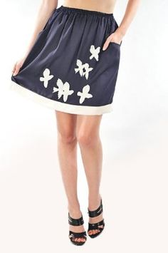 "Up and Away Skirt $34.99 - Take 20% off this item at our Back to School Sale with code ""B2SCHOOL"" Aug. 1-5! www.frock-stock.com"