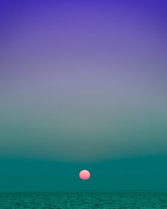 Fort Pond Bay, Montauk, NY at sunset 8:10 pm. From Eric Cahan's Sky Series.