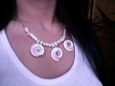 Stunning sea shell jewelry shell choker by ShysHandmadeCrafts, $17.00