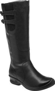 KEEN Footwear - Women's Bern Baby Bern Boot - The classic high-shafted upper is complimented with a wedge heel, full medial zip and handsome decorative buckles for support and simplicity in a great looking package.
