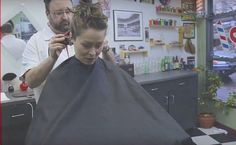 Salon Chairs, Barber Chair, Fall Hair, Barber Shop, Buzz Cuts, Hair Cuts, Type 3, Sexy, Theater