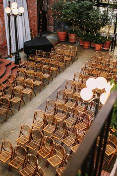 bamboo chairs for a garden ceremony | Photography by benjhaisch.com |   Read more - http://www.stylemepretty.com/2013/06/28/seattle-wedding-from-benj-haisch/