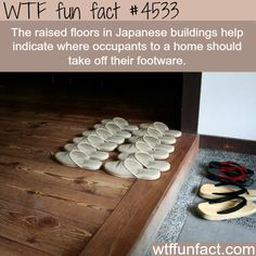 Raised floors in Japan -   WTF fun facts | In general a lot of Asian homes not just Japan