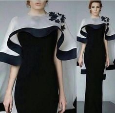 Dubai Kaftan Black Evening Dresses Long 2016 Floor Length Organza Flowers Formal Evening Gowns Party Dress