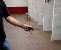 Hidden Gun in blade. Buy on off-gridoutfitters.com