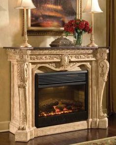 1000 Images About Electric Fireplace Mantle On Pinterest