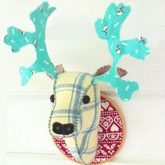 Looking for your next project? You're going to love Deer Head by designer bustleandsew.
