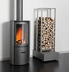 Stuv 30 Compact #KernowFires #stuv #fireplace #woodburner #stove #cornwall #freestanding #contemporary