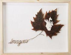 Lorenzo Duran, el arte en las hojas