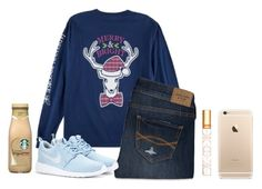 """""""Hair cut day!! So excited"""" by flroasburn ❤ liked on Polyvore featuring Abercrombie & Fitch, NIKE and Tory Burch"""