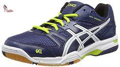 ASICS Gel-rocket 7, Chaussures de Volleyball homme - Bleu (navy/white