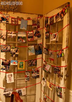 Love this idea for displaying Christmas cards