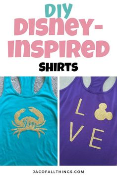 A complete tutorial on how to make your own Disney inspired shirts! Learn how to make DIY shirts for the whole family! Inexpensive and so cute! Perfect for your Disney World vacation! Disney On A Budget, Disney World Planning, Disney World Vacation, Disney Vacations, Family Vacations, Family Travel, Disney World Tips And Tricks, Disney Tips, Walt Disney