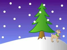 5 Little Reindeer (Jumping in the Snow)