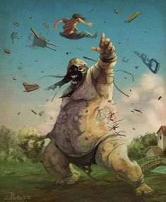 """The Giant"" by JuanManuel Tumburus."