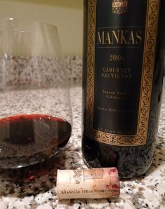 Wine Recommendation:  Mankas 2006 Cabernet Sauvignon