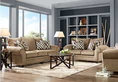 Chesapeake Mocha 7 Pc Living Room . $1,477.00. Find affordable Living Room Sets for your home that will complement the rest of your furniture.