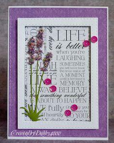 A Scrapjourney: Lavender