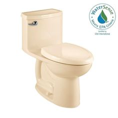 American Standard Compact Cadet 3 FloWise 1-piece 1.28 GPF Single Flush Elongated Toilet in