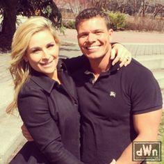 Photo of Happy WWE Couple Natalya and Tyson Kidd http://dailywrestlingnews.com/?p=66149