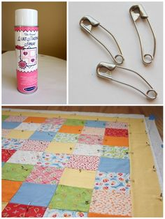 Diary of a Quilter - a quilt blog: Intro to Quilting 101, basting