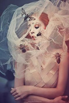 Me and some moths of my lil private collection Wearing a couture gown by AVIATRIX Shot by Fotograf Felix Rachor Take me to the light Art Photography Women, Photography Projects, Artistic Photography, Beauty Photography, Corpse Bride Wedding, Steampunk, Fantasy Model, Victorian Goth, Over Dose