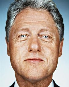 His extra-marital affair with Monica Lewinsky scandalized him in the late 1990s. But today, Bill Clinton is one of the county's most beloved former presidents.  #reinvention   Martin Schoeller, Bill Clinton,2000