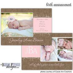 Instant Download  Photoshop PSD layered by babyfreshdesigns, $5.00